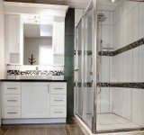 Armoires salle de bain polyester