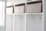 Mobilier d\'entrée, armoires rangement