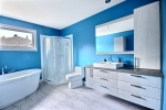salle de bain bleue 1
