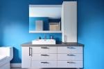 salle de bain bleue 2